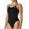 TYR Solid Cutoutfit Bathing Suit Women black